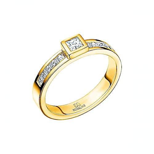 Diamantring från Schalins 0,55 TWVS i 18k guld Tropic – Tobago