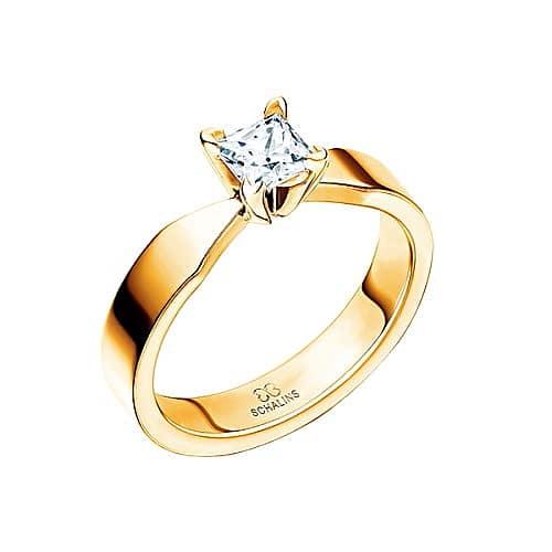 Diamantring från Schalins 0,30 TWVS i 18k roseguld Tropic – Maui 0.30 ct