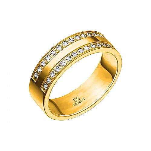 Diamantring från Schalins 0,30 WSI i 18k guld Tropic – Grenada