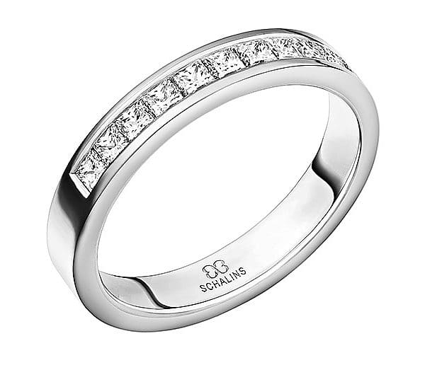 Diamantring från Schalins 0,55 TopWVS i Palladium Tropic – Bali