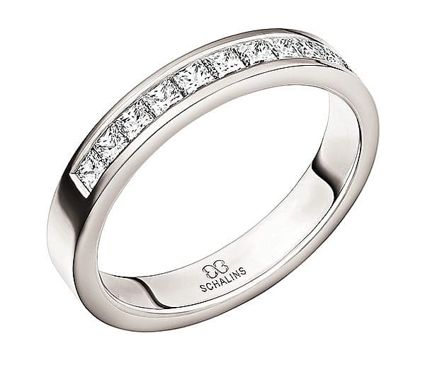 Diamantring från Schalins 0,39 Top WVS i Palladium Tropic – Bali