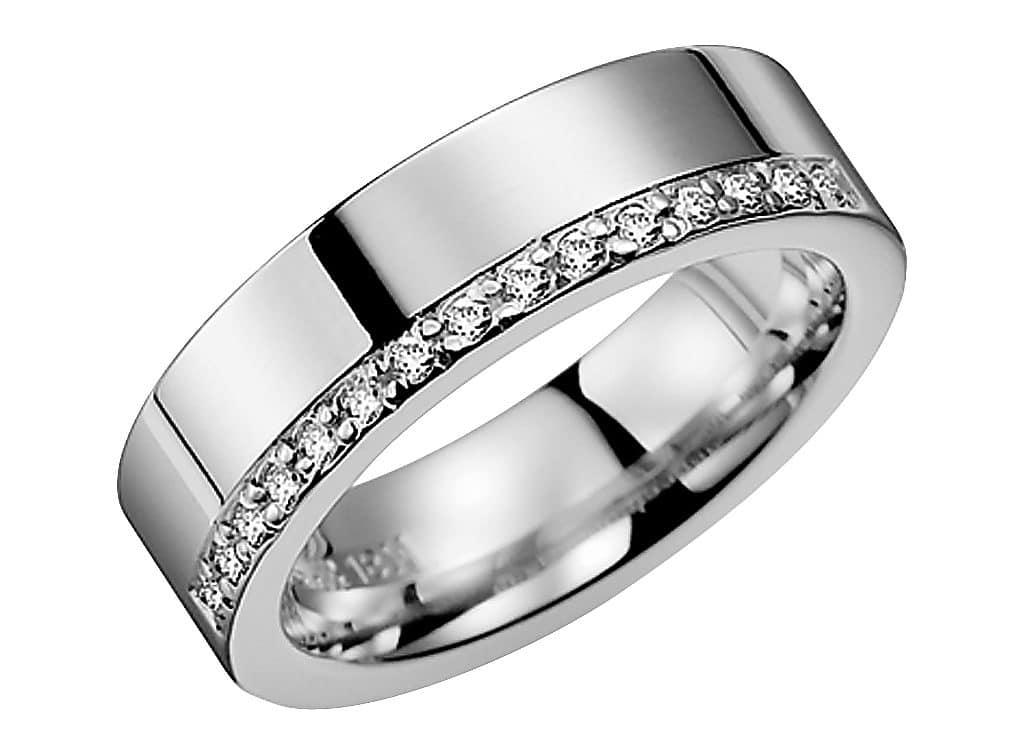 Diamantring från Schalins 0,15 WSI i 18k vitguld Tropic – Trinidad