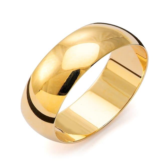 Förlovningsring från Flemming Uziel 18k guld / 21N7 Tradition