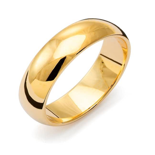Förlovningsring från Flemming Uziel 18k guld / 80N6 Tradition.