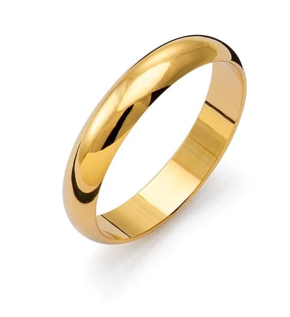 Förlovnings Ring från Flemming Uziel 18k guld / 1R4 Tradition