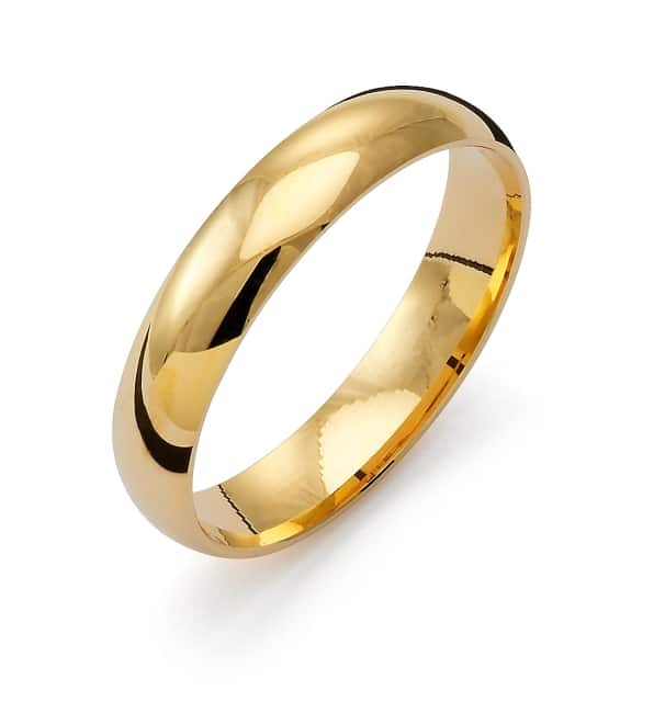 Förlovnings Ring från Flemming Uziel 18k guld / K1R4 Tradition