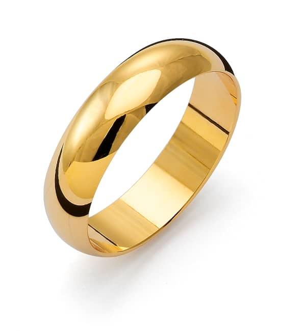 Ring från Flemming Uziel 18k guld / 1R5 Tradition