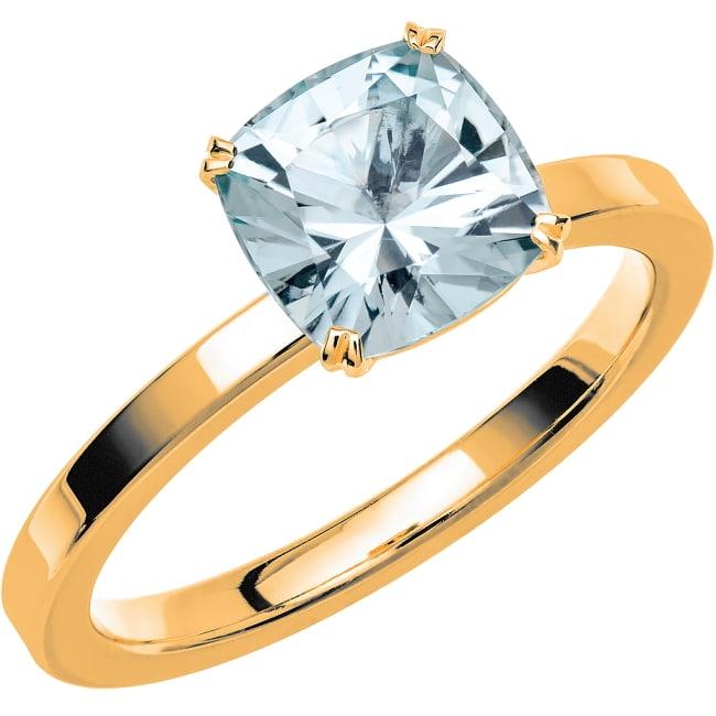 Ring från Schalins Fairytale 5 Akvamarin 7,5 mm i 18k guld