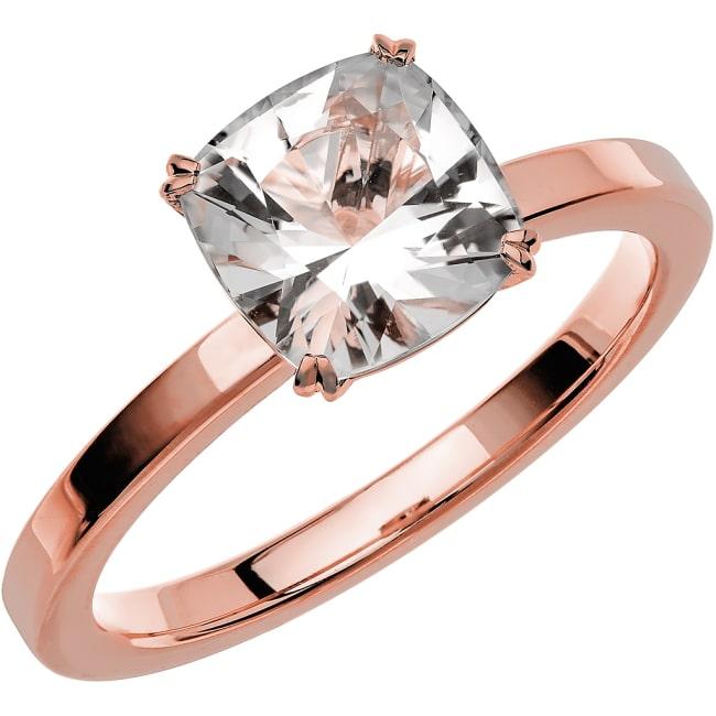 Ring från Schalins Fairytale 5 Snövit Beryll 7,5 mm i 18k roseguld