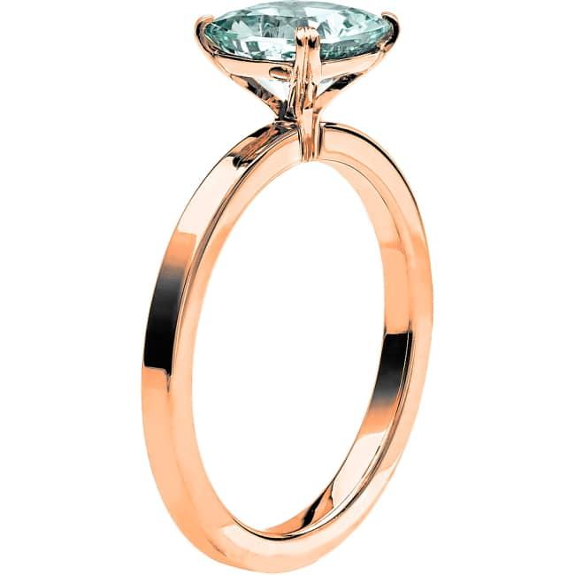 Ring från Schalins Fairytale 5 Akvamarin 7,5 mm i 18k roseguld