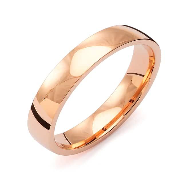 Förlovnings Ring från Flemming Uziel 18k roseguld / K4R4/1,6 Tradition