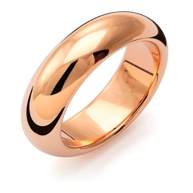 Förlovningsring från Flemming Uziel 18k roseguld / 159N7 Tradition