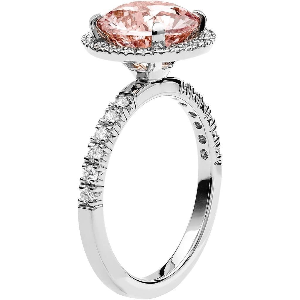 Ring från Schalins Fairytale 10/ Morganit 9,5 mm/ diamanter 0,48 ct i 18k vitguld
