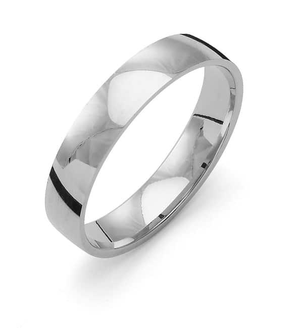 Förlovningsring från Flemming Uziel 18k vitguld / K4R4 Tradition
