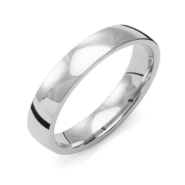 Förlovnings Ring från Flemming Uziel 18k vitguld / K4R4/1,6 Tradition
