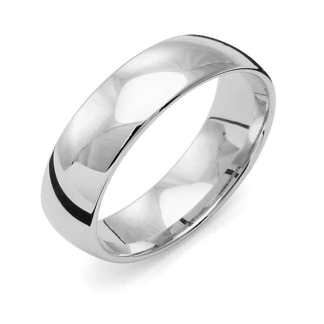 Förlovningsring från Flemming Uziel 18k vitguld / 114N6 Tradition