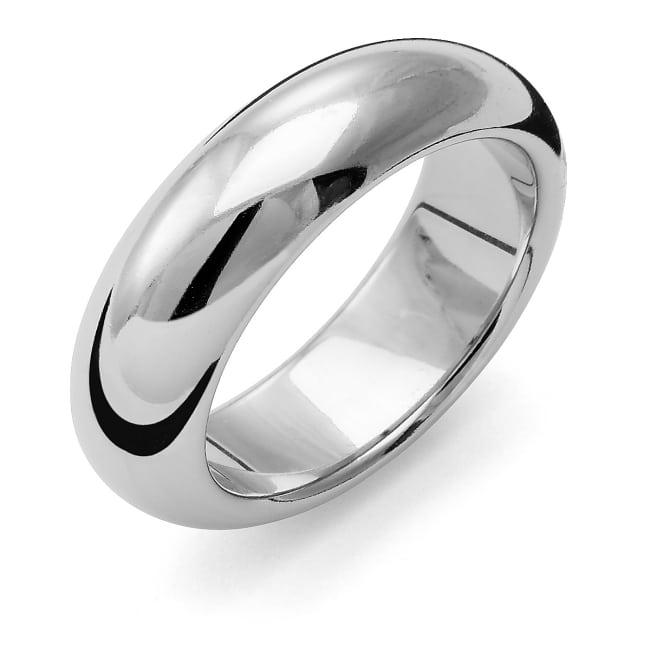 Förlovningsring från Flemming Uziel 18k vitguld / 159N7 Tradition