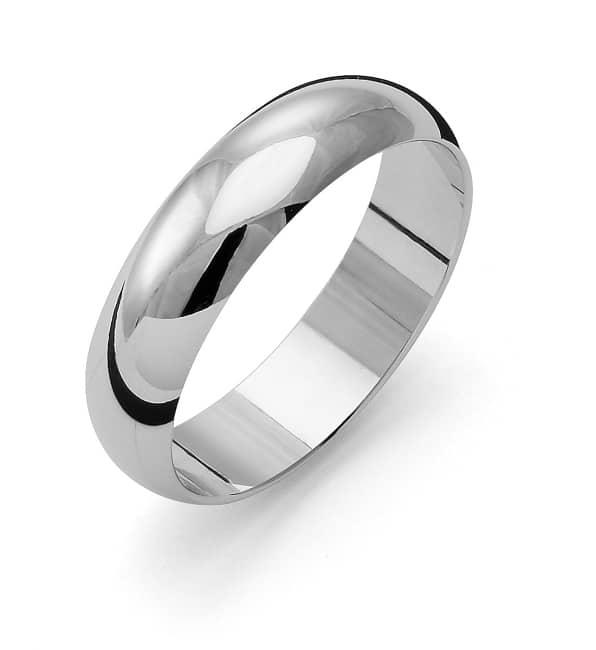 Förlovningsring från Flemming Uziel 18k vitguld / 1R5 Tradition