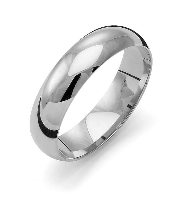 Förlovningsring från Flemming Uziel 18k vitguld / K1R5 Tradition