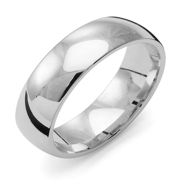 Förlovningsring från Flemming Uziel 18k vitguld / 167P6 Tradition.