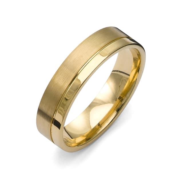Förlovningsring Flemming Uziel i 18k guld/ 72029 Selective